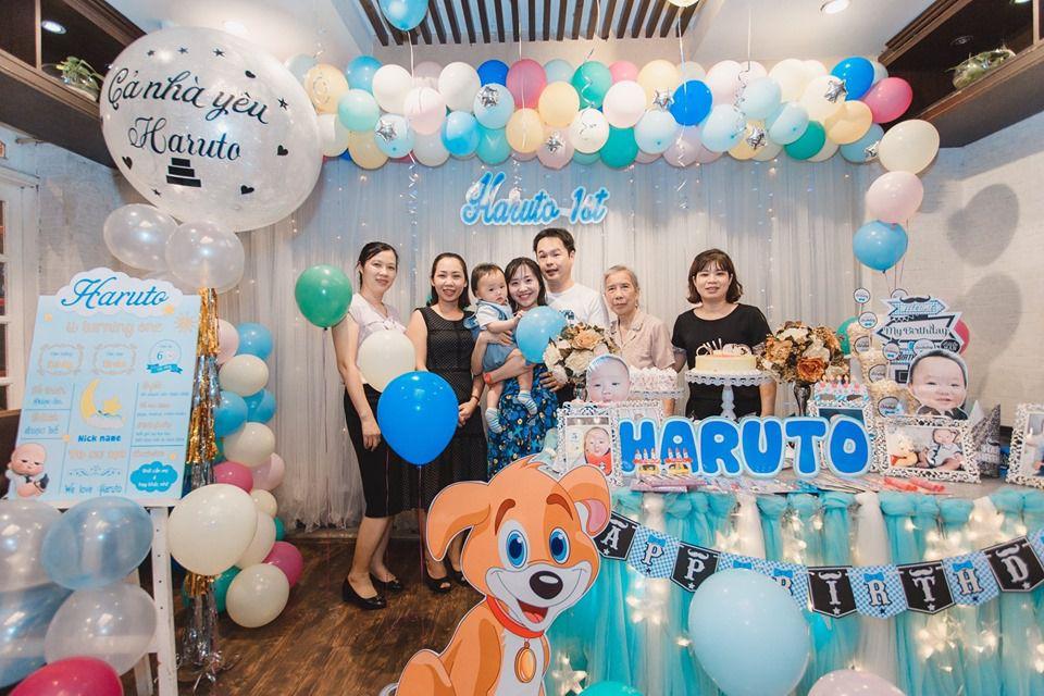 Tổ chức sinh nhật - Đặt tiệc liên hoan - Đầy tháng cho bé tại Hà Nội